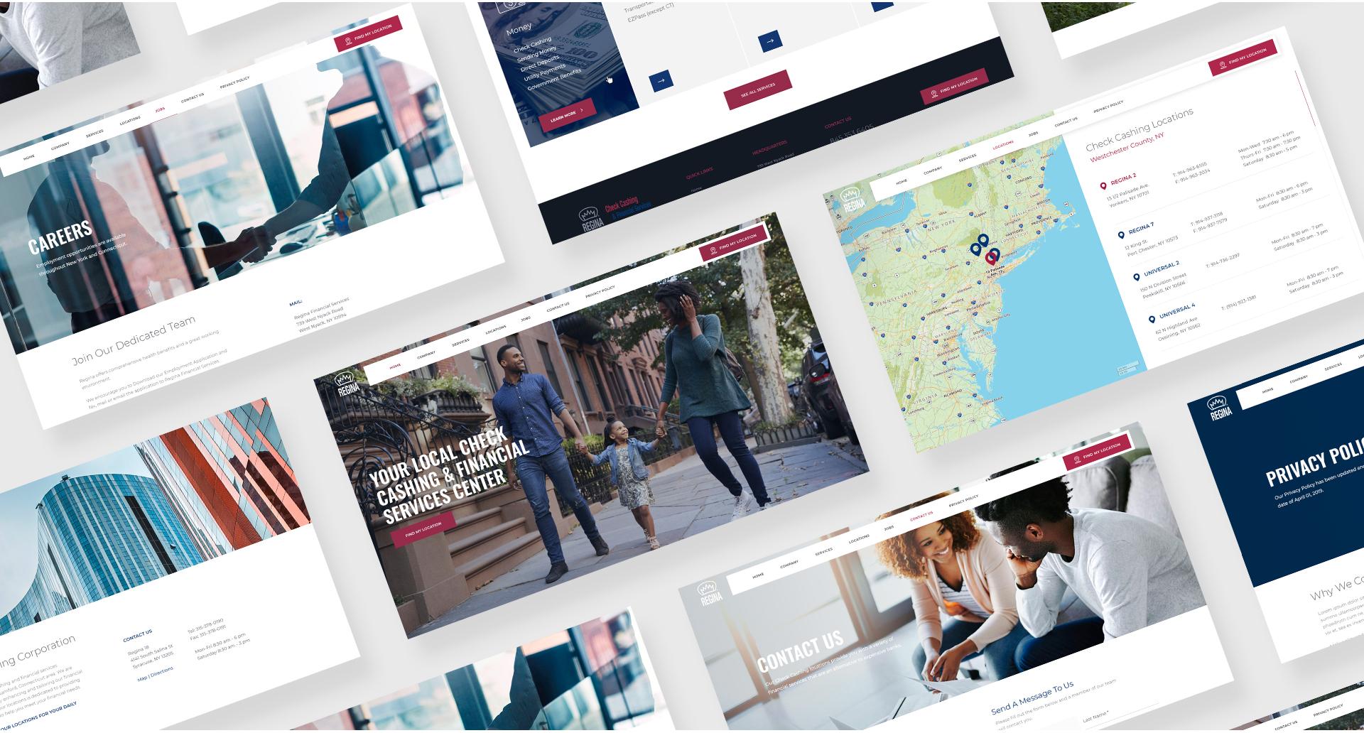 Regina Financial Services Mics Screenshots